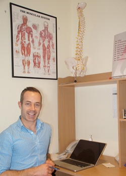 Dr Christopher Tucker, Osteopath at The Osteopaths of Heidelberg