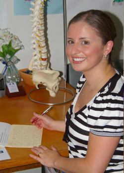 Daniela De Fazio, Osteopath