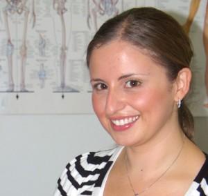 Daniella de Fazio, Osteopath