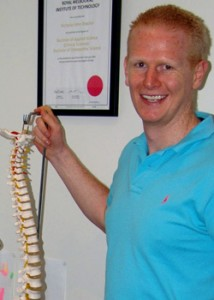 Nick Brasher, Osteopath
