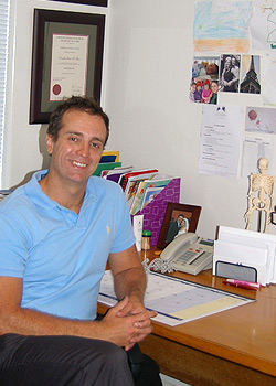 Dr Peter Parker, Osteopath
