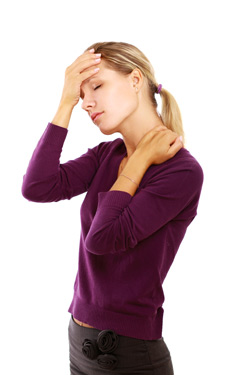 Neck related headaches