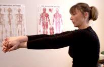 Rhomboid Muscle/Upper Back Stretch