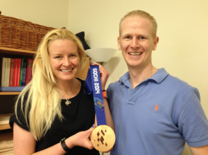 Nick Brasher and Jess Gallagher Summer and Winter Paralympian