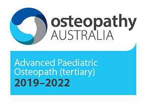 Osteopathy Australia - Advanced Paediatric Osteopath (tertiary) 2019-2022 - logo